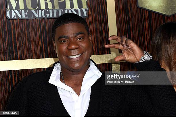 Actor Tracy Morgan arrives at Spike TV's 'Eddie Murphy One Night Only' at the Saban Theatre on November 3 2012 in Beverly Hills California