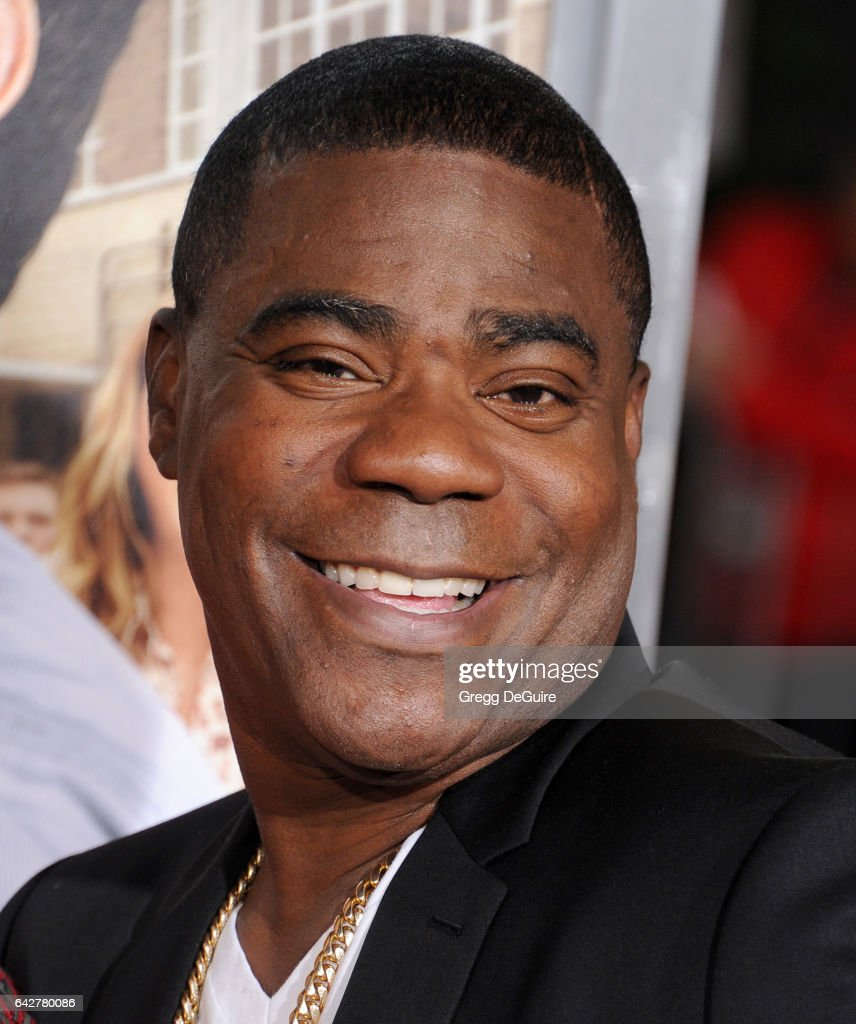 Actor Tracy Morgan arrives at the premiere of Warner Bros. Pictures' 'Fist Fight' at Regency Village Theatre on February 13, 2017 in Westwood, California.