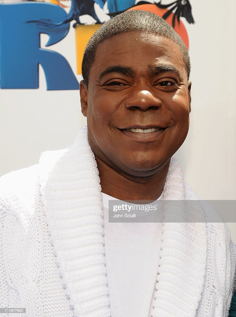 Actor, Tracy Morgan arrives for the premiere of Twentieth Century Fox & Blue Sky Studios' 'RIO' on April 10, 2011 in Hollywood, California.