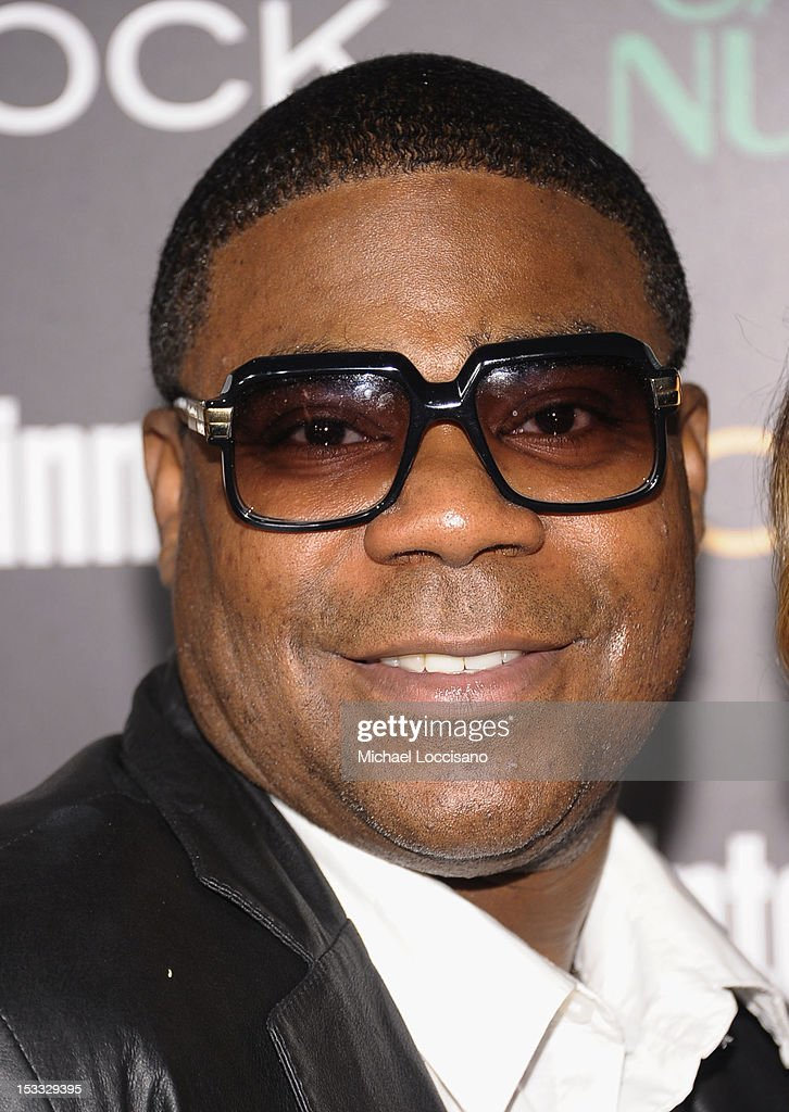 Actor Tracy Morgan attends Entertainment Weekly and NBC's celebration of the final season of 30 Rock sponsored by Garnier Nutrisse on October 3, 2012 in New York City.