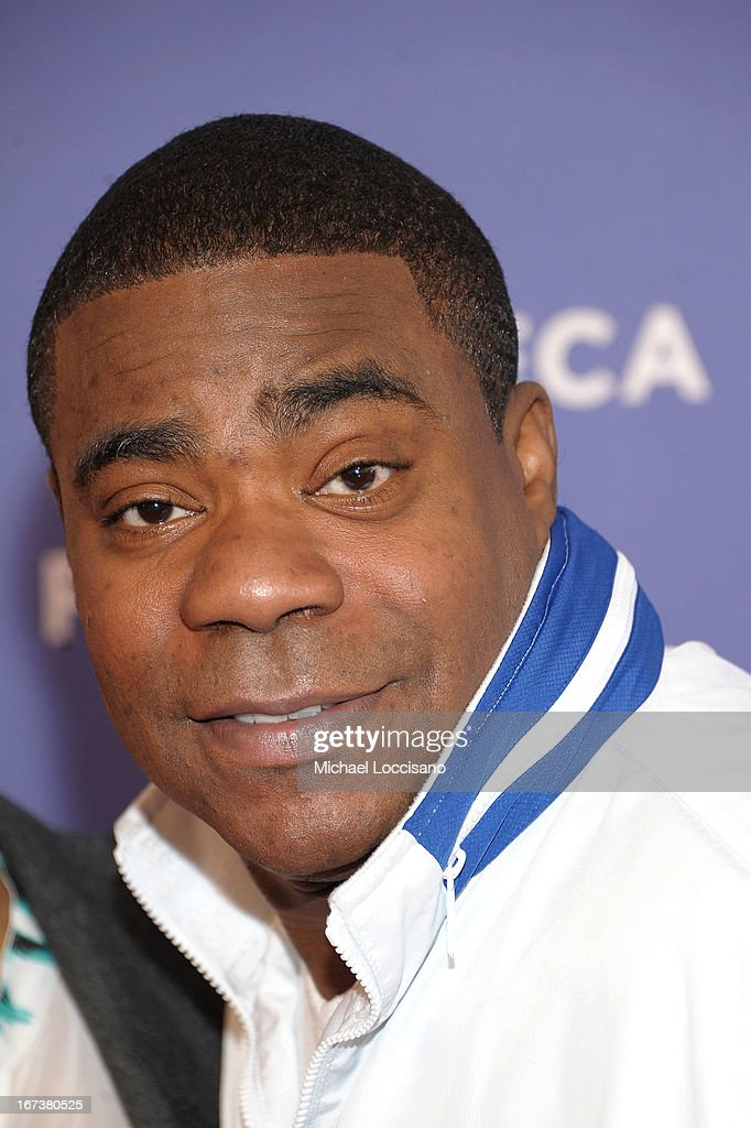Actor <a gi-track='captionPersonalityLinkClicked' href=/galleries/search?phrase=Tracy+Morgan&family=editorial&specificpeople=182428 ng-click='$event.stopPropagation()'>Tracy Morgan</a> attends HBO's 'The Battle of amfAR' premiere at Tribeca Film Festival on April 24, 2013 in New York City.