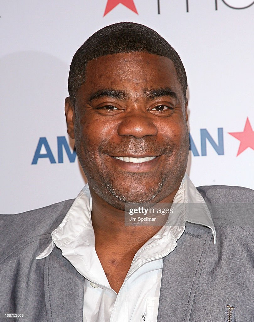 Actor <a gi-track='captionPersonalityLinkClicked' href=/galleries/search?phrase=Tracy+Morgan&family=editorial&specificpeople=182428 ng-click='$event.stopPropagation()'>Tracy Morgan</a> attends Macy's 'American Icons' Campaign Launch at Gotham Hall on May 14, 2013 in New York City.