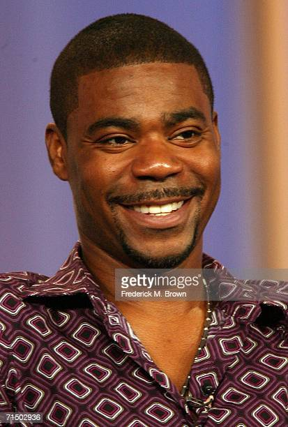 Actor Tracy Morgan from the series '30 Rock' attends the 2006 Summer Television Critics Association Press Tour for the The NBC Network at the...