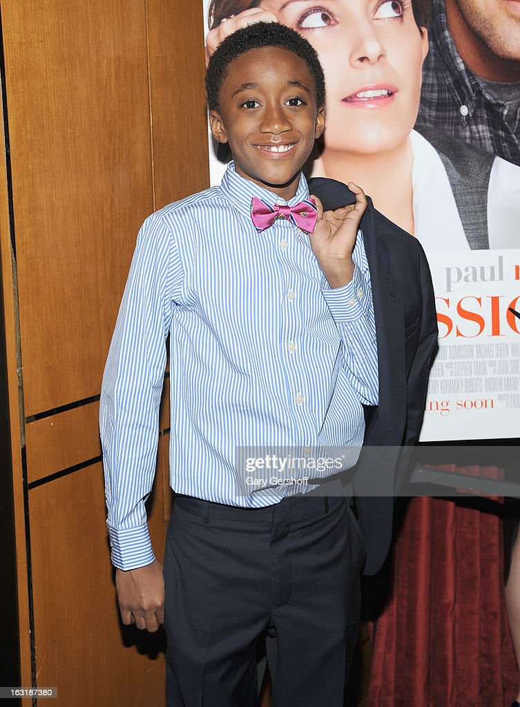 Actor Travaris Spears attends the 'Admission' New York premiere after party at Monkey Bar on March 5, 2013 in New York City.