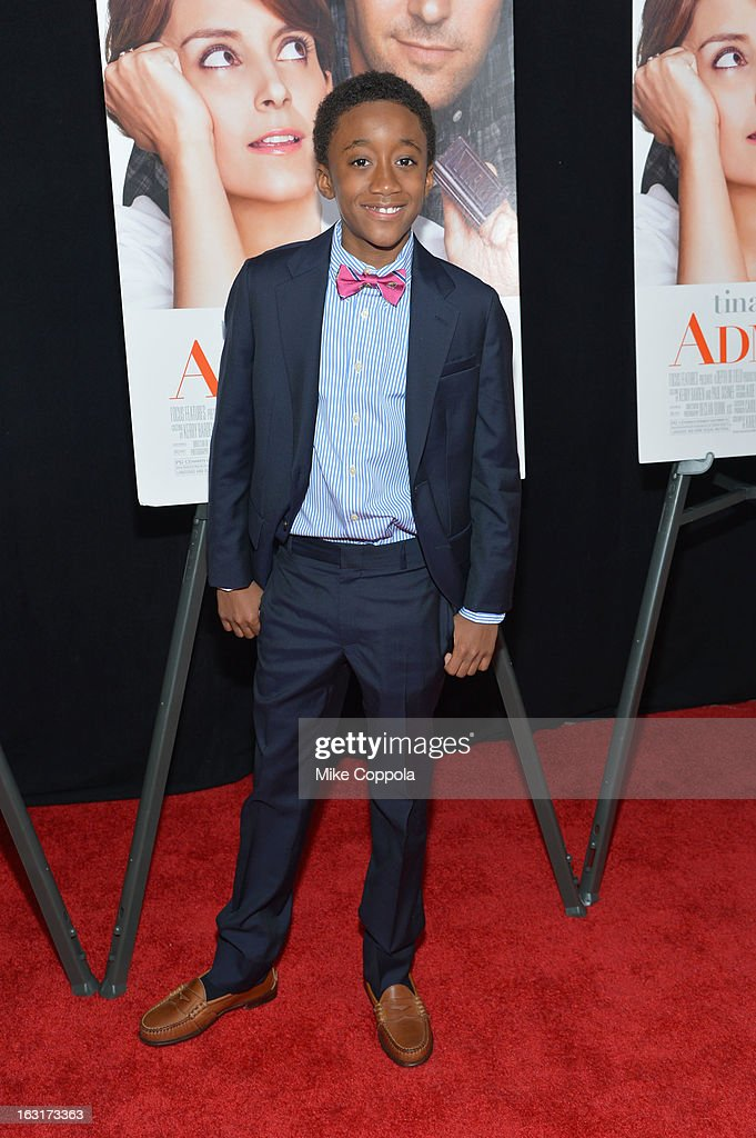 Actor Travaris Spears attends the 'Admission' New York Premiere at AMC Loews Lincoln Square 13 on March 5, 2013 in New York City.