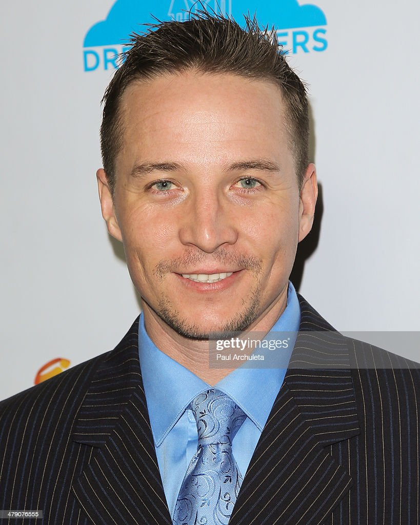 Actor Travis Aaron Wade attends the Dream Builders project's 'A Brighter Future For Children' benefit at H.O.M.E. on March 15, 2014 in Beverly Hills, California.