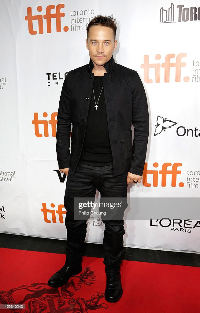 Actor Travis Aaron Wade attends 'The Forger' premiere during the 2014 Toronto International Film Festival at Roy Thomson Hall on September 12, 2014 in Toronto, Canada.