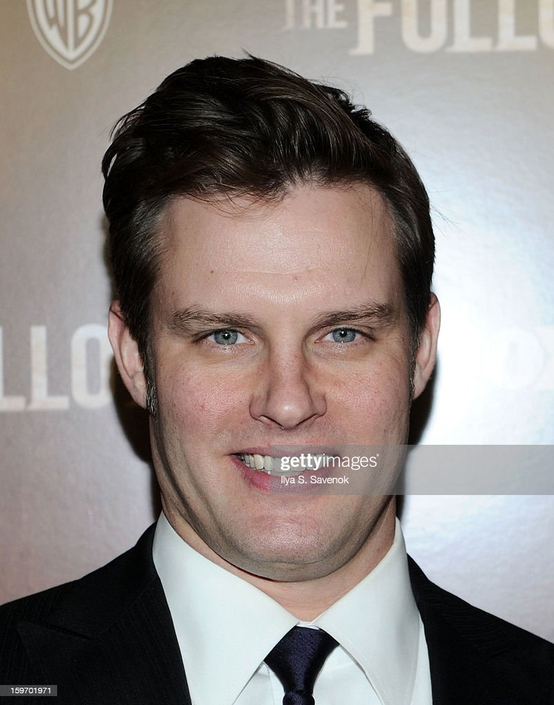 Actor Travis Schuldt attends 'The Following' World Premiere at The New York Public Library on January 18, 2013 in New York City.