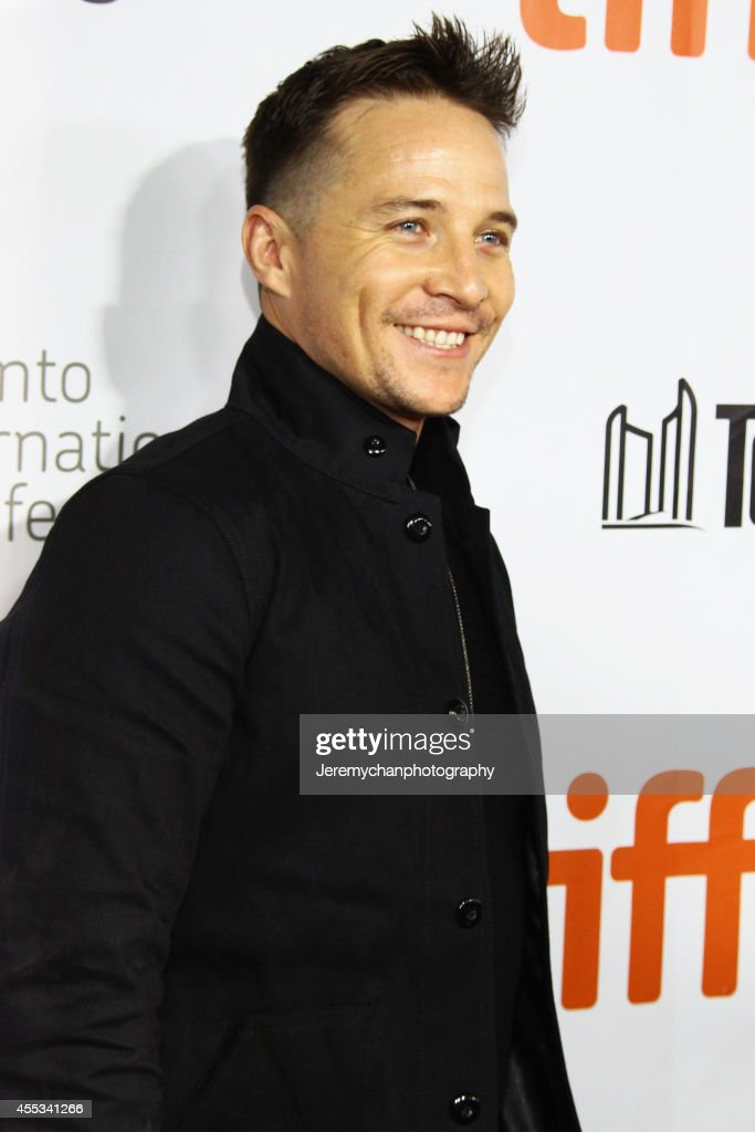 Actor Travis Wade arrives at 'The Forger' Premiere during the 2014 Toronto International Film Festival held at Roy Thomson Hall on September 12, 2014 in Toronto, Canada.