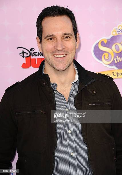 Actor Travis Willingham attends the premiere of 'Sofia The First Once Upon a Princess' at Walt Disney Studios on November 10 2012 in Burbank...