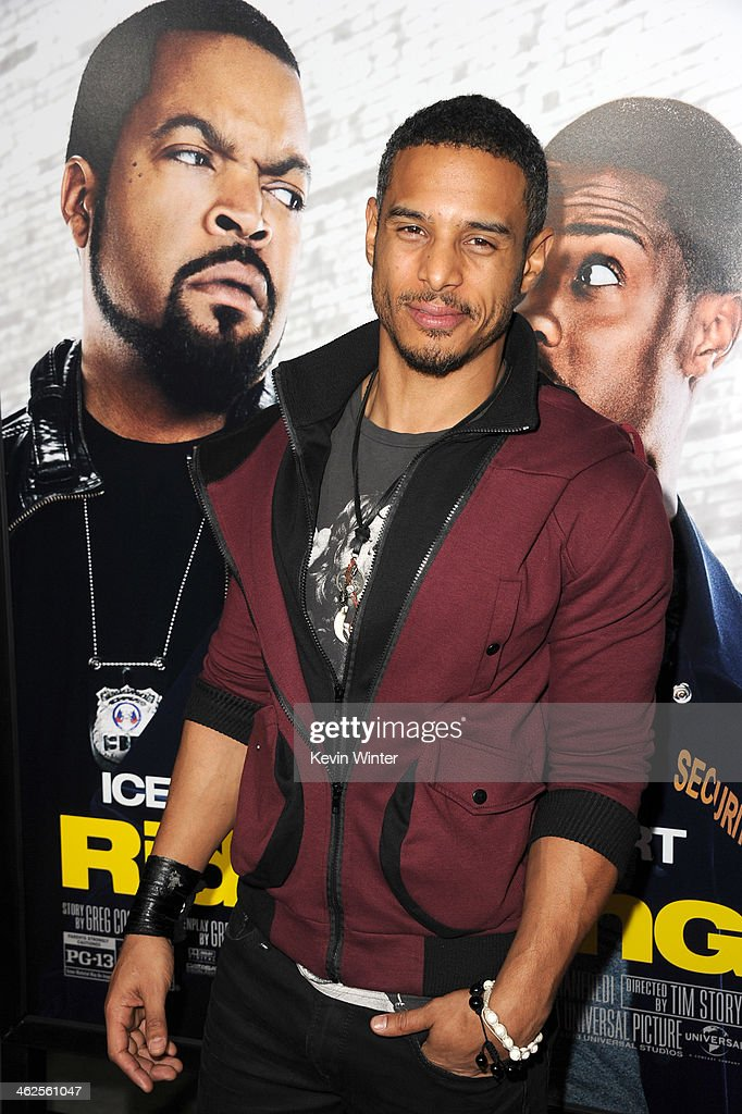 Actor Travis Winfrey attends the Premiere Of Universal Pictures' 'Ride Along' at TCL Chinese Theatre on January 13, 2014 in Hollywood, California.