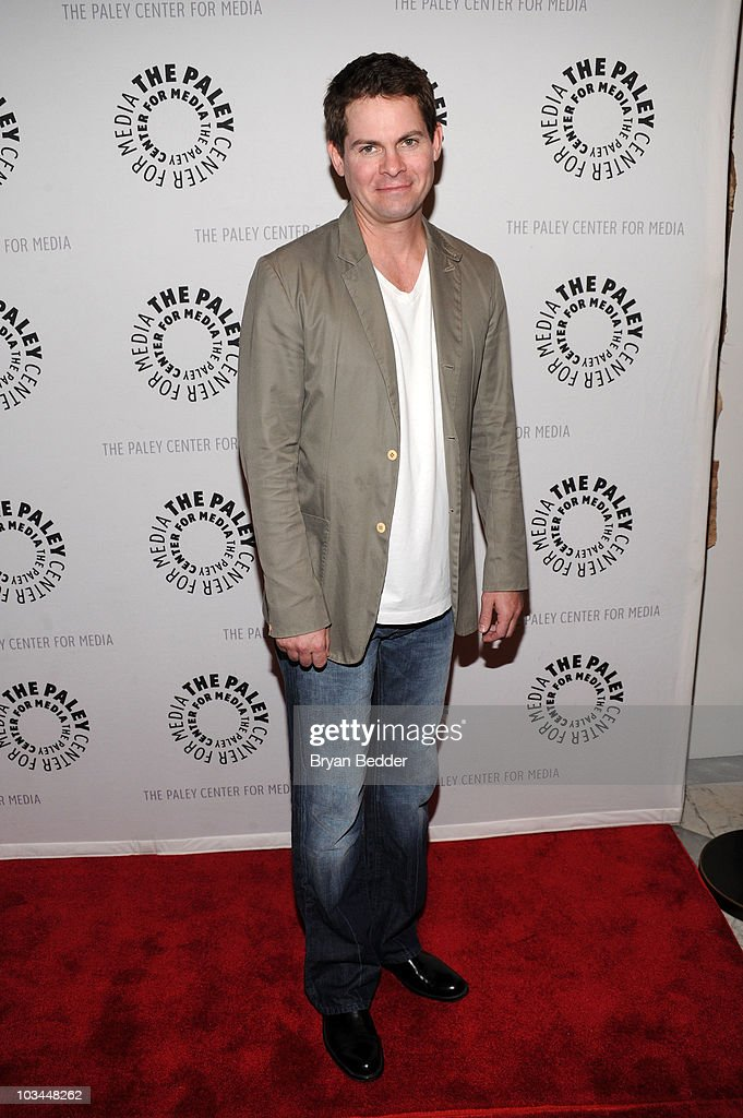 Actor Trent Dawson attends a farewell to cast of 'As The World Turns' at The Paley Center for Media on August 18, 2010 in New York City.