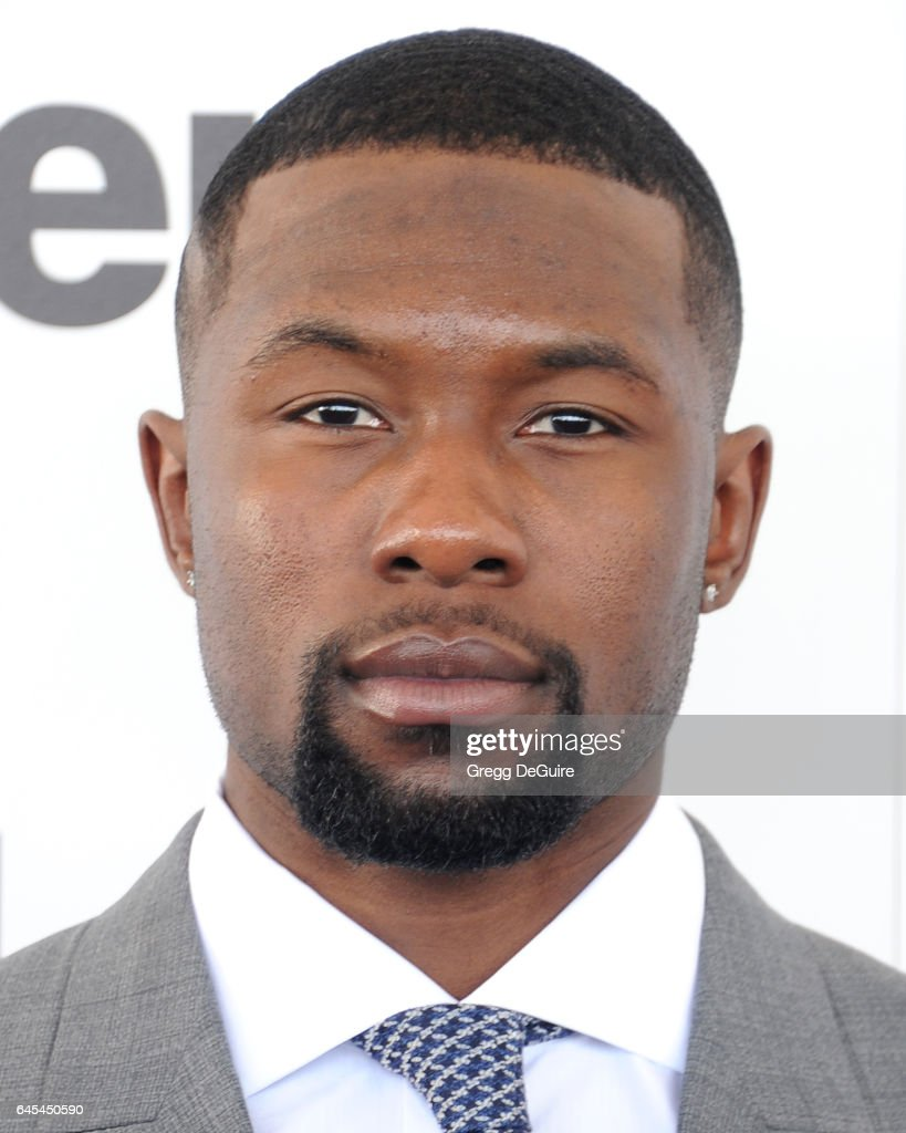 Actor Trevante Rhodes arrives at the 2017 Film Independent Spirit Awards on February 25, 2017 in Santa Monica, California.