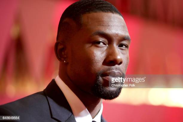Actor Trevante Rhodes attends the 89th Annual Academy Awards at Hollywood Highland Center on February 26 2017 in Hollywood California