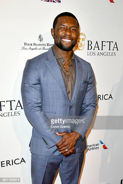 Actor Trevante Rhodes attends The BAFTA Tea Party at Four Seasons Hotel Los Angeles at Beverly Hills on January 7 2017 in Los Angeles California