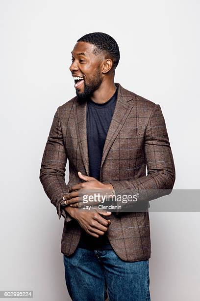 Actor Trevante Rhodes of 'Moonlight' poses for a portraits at the Toronto International Film Festival for Los Angeles Times on September 10 2016 in...