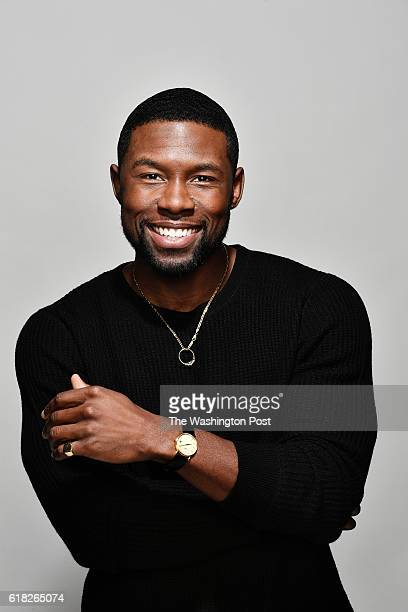 Actor Trevante Rhodes stars in the anticipated release of Moonlight photographed at the Ritz Carlton in Washington DC on October 25 2016 The movie is...