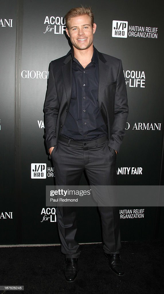 Actor <a gi-track='captionPersonalityLinkClicked' href=/galleries/search?phrase=Trevor+Donovan&family=editorial&specificpeople=4313407 ng-click='$event.stopPropagation()'>Trevor Donovan</a> attends Giorgio Armani party during Paris Photo LA - Opening Night at Paramount Studios on April 25, 2013 in Hollywood, California.