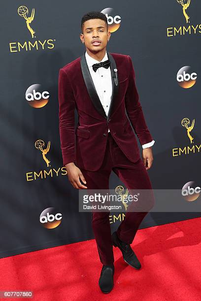 Actor Trevor Jackson arrives at the 68th Annual Primetime Emmy Awards at the Microsoft Theater on September 18 2016 in Los Angeles California