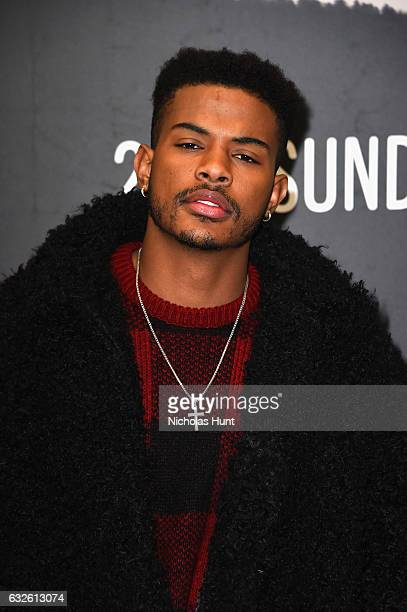 Actor Trevor Jackson attends the 'Burning Sands' Premiere at Eccles Center Theatre on January 24 2017 in Park City Utah