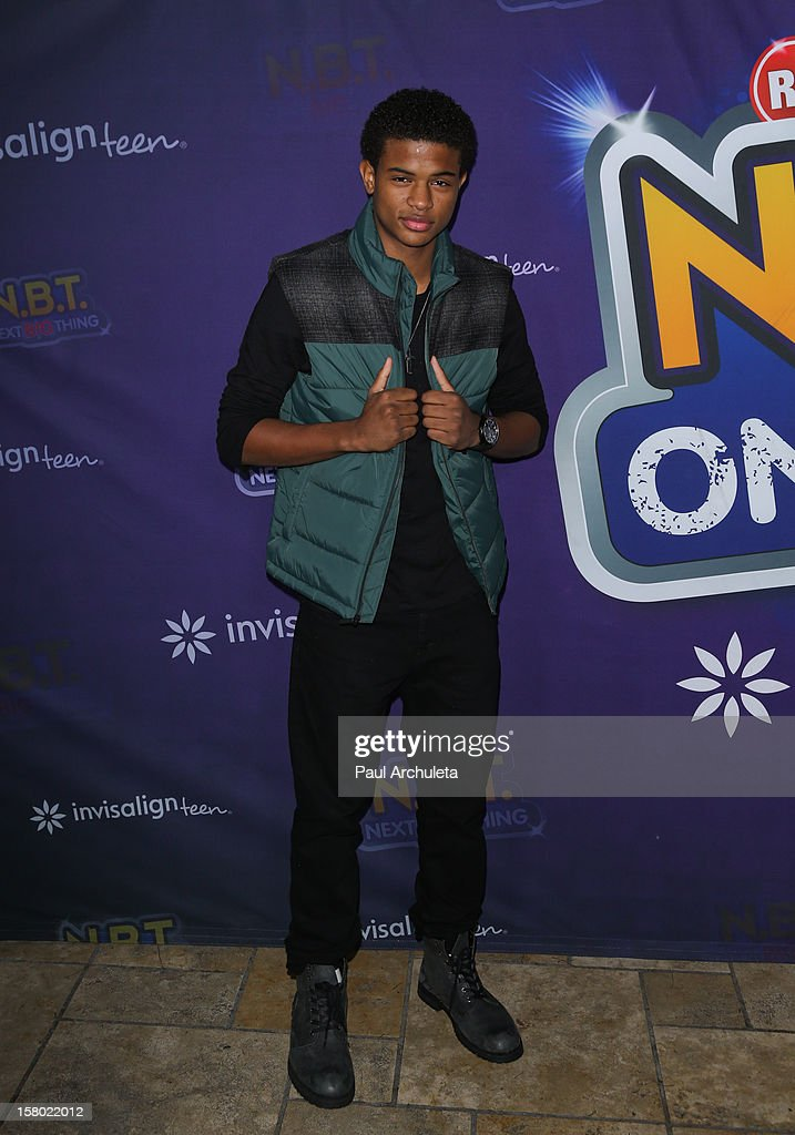 Actor Trevor Jackson attends the Radio Disney's 'N.B.T.' (Next BIG Thing) season five winner announcements at The Americana at Brand on December 8, 2012 in Glendale, California.