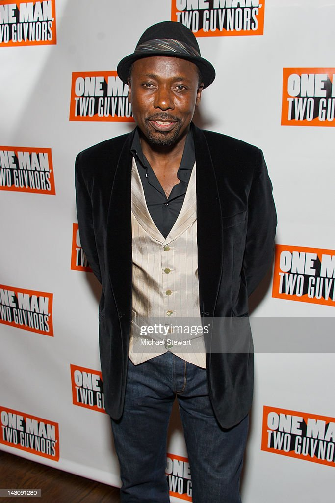 Actor Trevor Laird attends the 'One Man, Two Guvnors' opening night party at The Liberty Theatre on April 18, 2012 in New York City.