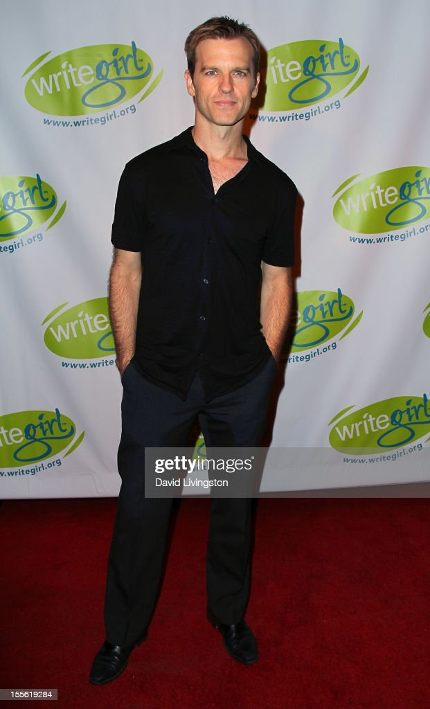 Actor Trevor St John attends the Bold Ink Awards at the Eli and Edythe Broad Stage on November 5 2012 in Santa Monica California