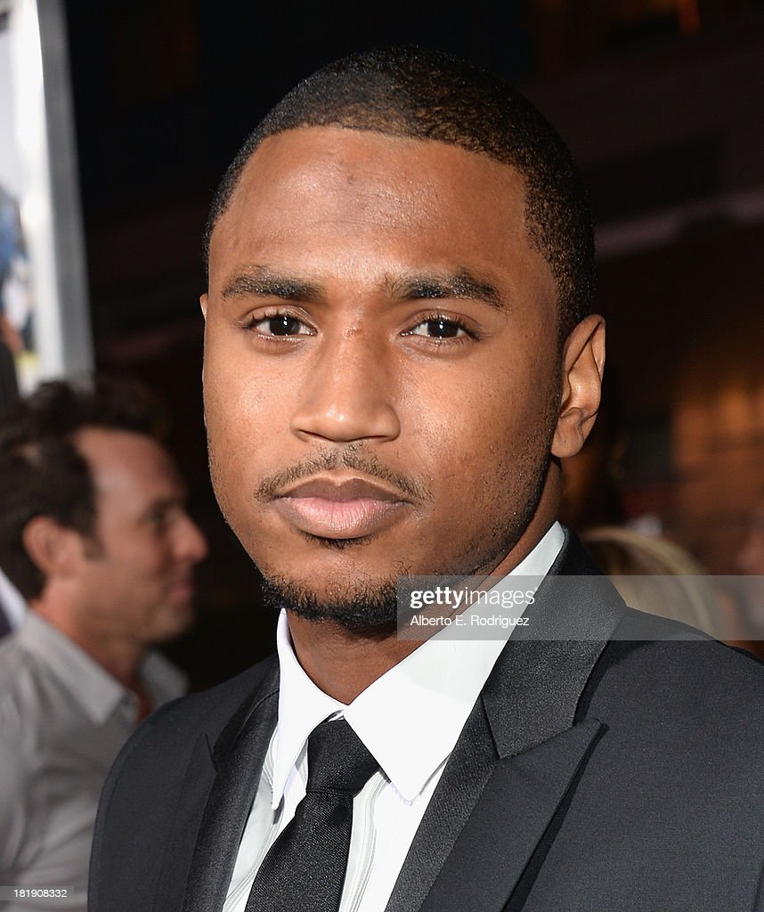 Actor <a gi-track='captionPersonalityLinkClicked' href=/galleries/search?phrase=Trey+Songz&family=editorial&specificpeople=674835 ng-click='$event.stopPropagation()'>Trey Songz</a> attends the premiere of Fox Searchlight Pictures' 'Baggage Claim' at Regal Cinemas L.A. Live on September 25, 2013 in Los Angeles, California.