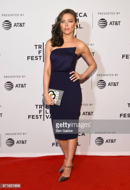 Actor Trieste Kelly Dunn attends the 'Blame' Premiere during 2017 Tribeca Film Festival at Cinepolis Chelsea on April 22 2017 in New York City