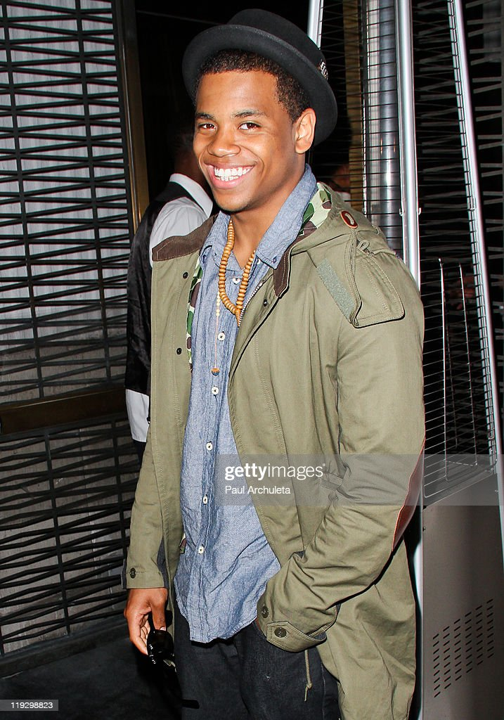 Actor Tristan Wild Celebrates his 22nd birthday at The Stone Rose lounge at Stone Rose on July 16 2011 in Los Angeles California
