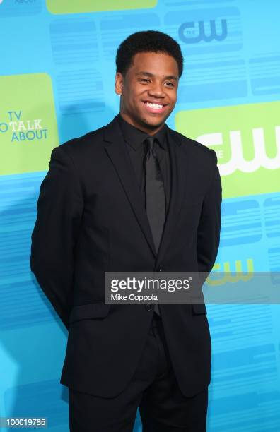 Actor Tristan Wilds attends the 2010 The CW UpFront at Madison Square Garden on May 20 2010 in New York City