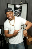 Actor Tristan Wilds attends the Access Hollywood 'Stuff You Must' Lounge produced by On 3 Productions at the Sofitel Hotel on January 15 2011 in Los...