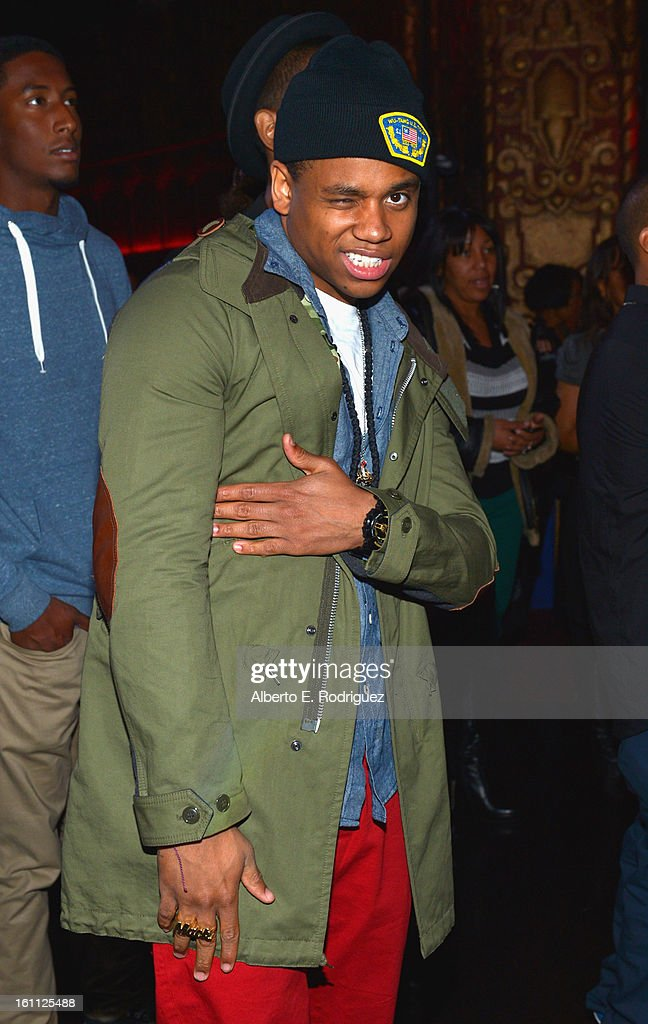 Actor Tristan Wilds attends the BET Music Matters Grammy Showcase on February 8, 2013 in Los Angeles, California.