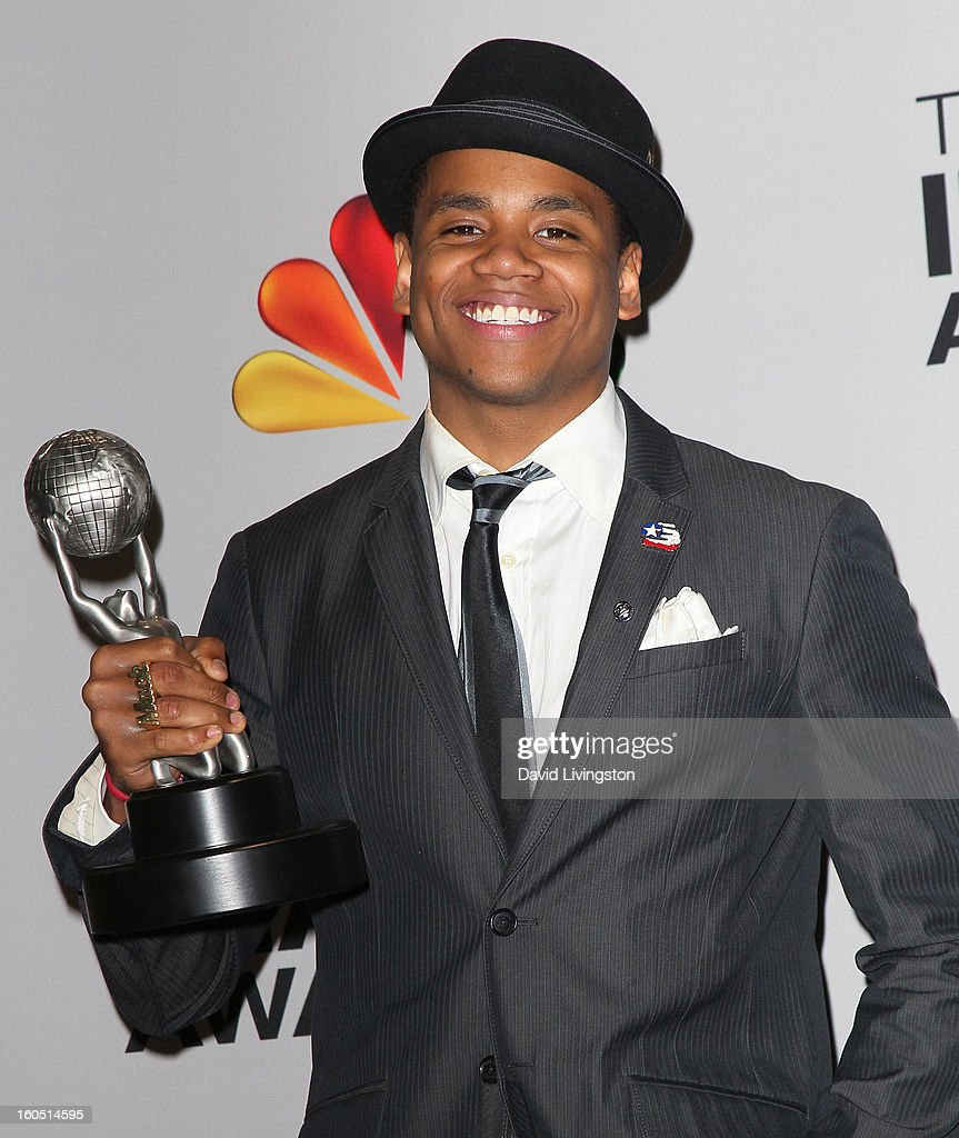 Actor Tristan Wilds attends the press room at the 44th NAACP Image Awards at the Shrine Auditorium on February 1, 2013 in Los Angeles, California.