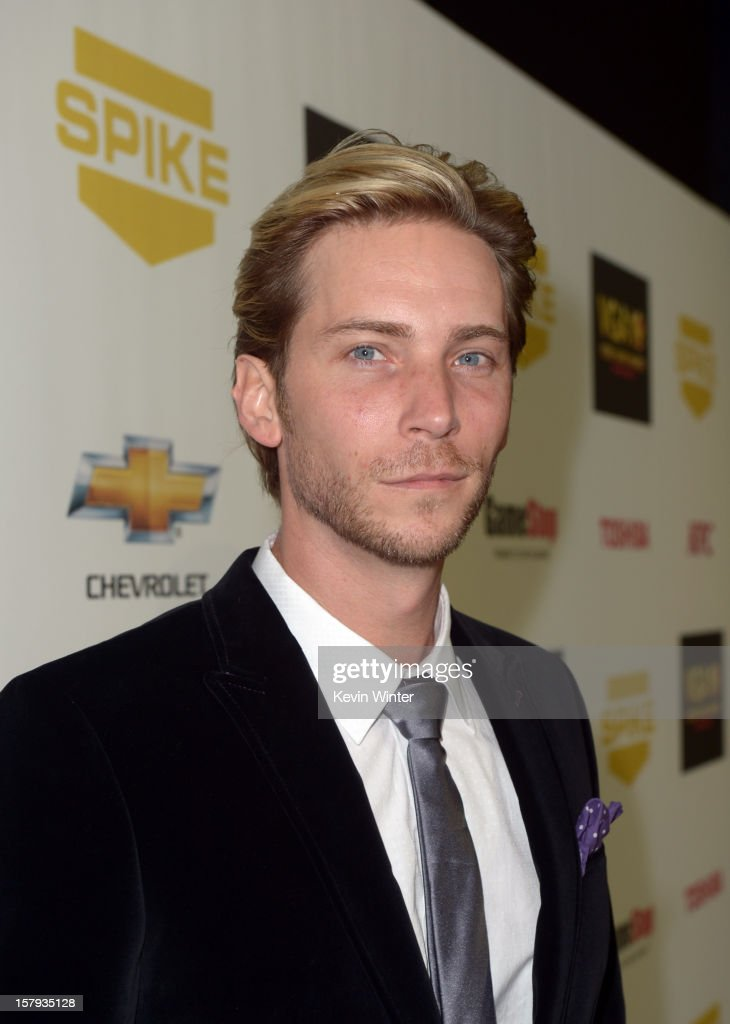 Actor Troy Baker arrives at Spike TV's 10th annual Video Game Awards at Sony Studios on December 7 2012 in Culver City California