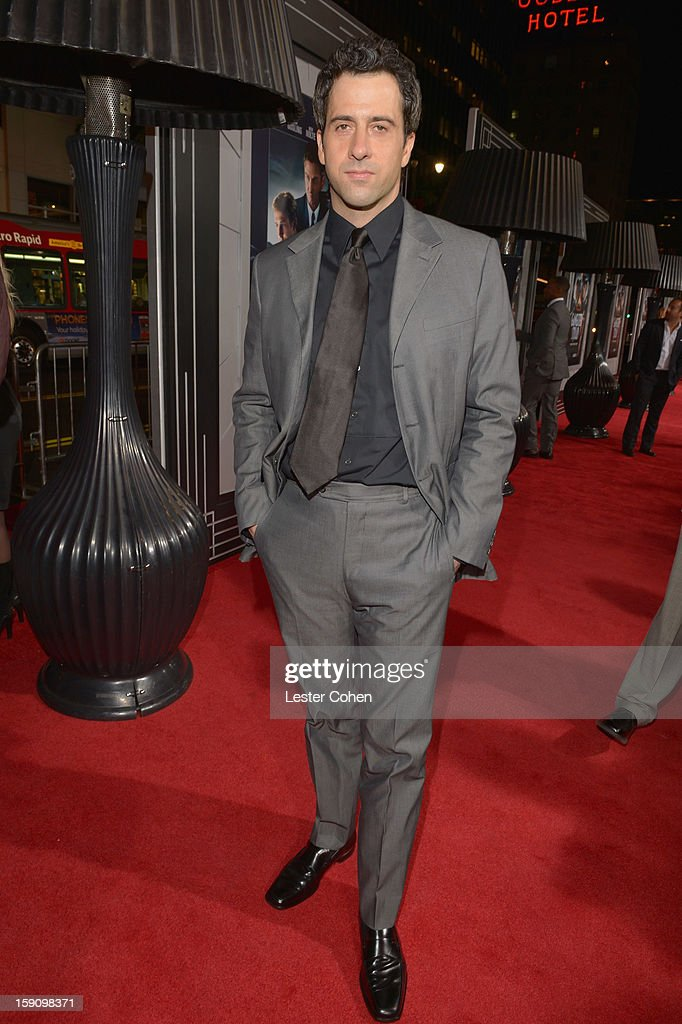 Actor Troy Garity arrives at the 'Gangster Squad' premiere at Grauman's Chinese Theatre on January 7, 2013 in Hollywood, California.