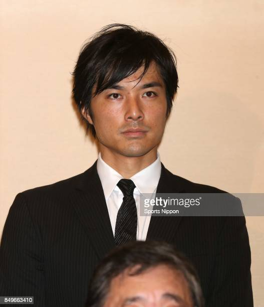 Actor Tsutomu Ikeda attends 29th death anniversary ceremony of actor Yujiro Ishihara on July 17 2015 in Tokyo Japan