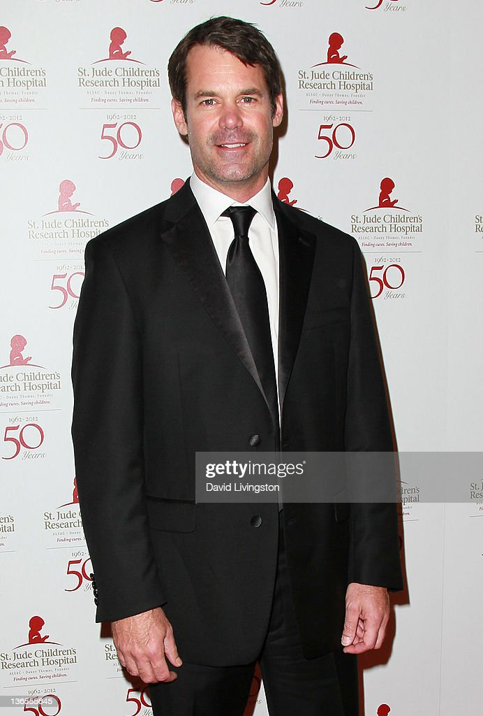 Actor Tuc Watkins attends the 50th anniversary celebration for St. Jude Children's Research Hospital at The Beverly Hilton hotel on January 7, 2012 in Beverly Hills, California.