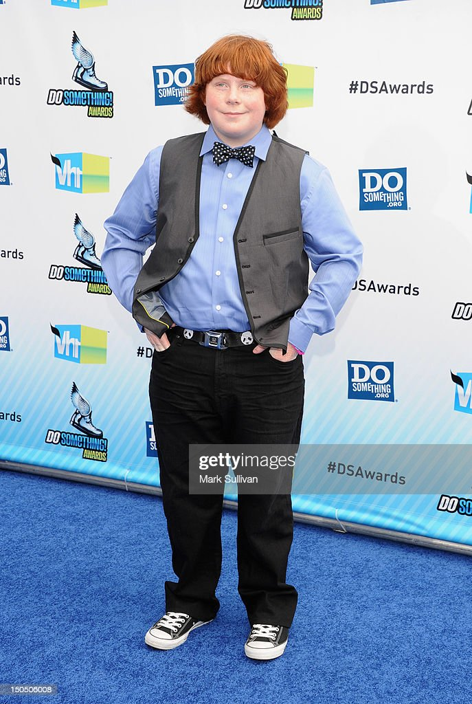 Actor Tucker Albrizzi arrives for the 2012 Do Something Awards on August 19 2012 in Santa Monica California