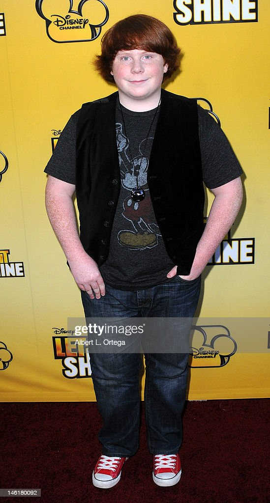 Actor Tucker Albrizzi arrives for the Premiere Of Disney Channel's 'Let It Shine' Arrivals at Directors Guild Of America on June 5 2012 in Los...