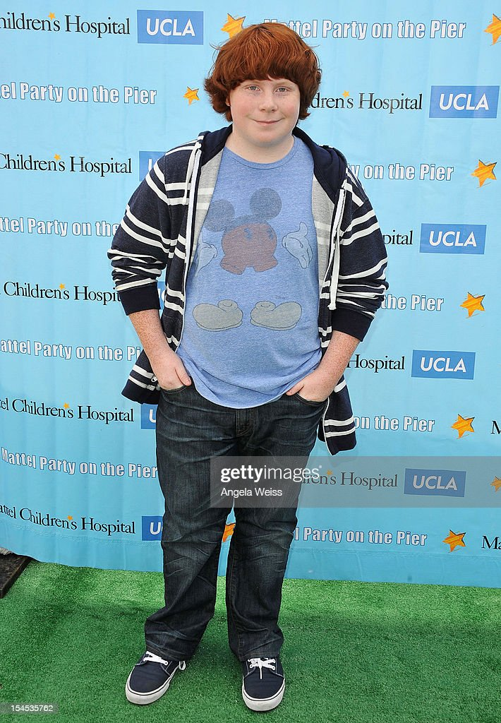 Actor Tucker Albrizzi arrives to the 'Mattel Party on the Pier' benefiting Mattel Children's Hospital UCLA at Pacific Park on the Santa Monica Pier...