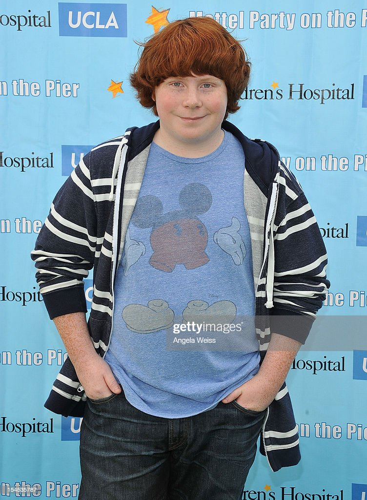 Actor <a gi-track='captionPersonalityLinkClicked' href=/galleries/search?phrase=Tucker+Albrizzi&family=editorial&specificpeople=5639448 ng-click='$event.stopPropagation()'>Tucker Albrizzi</a> arrives to the 'Mattel Party on the Pier' benefiting Mattel Children's Hospital UCLA at Pacific Park on the Santa Monica Pier on October 21, 2012 in Santa Monica, California.