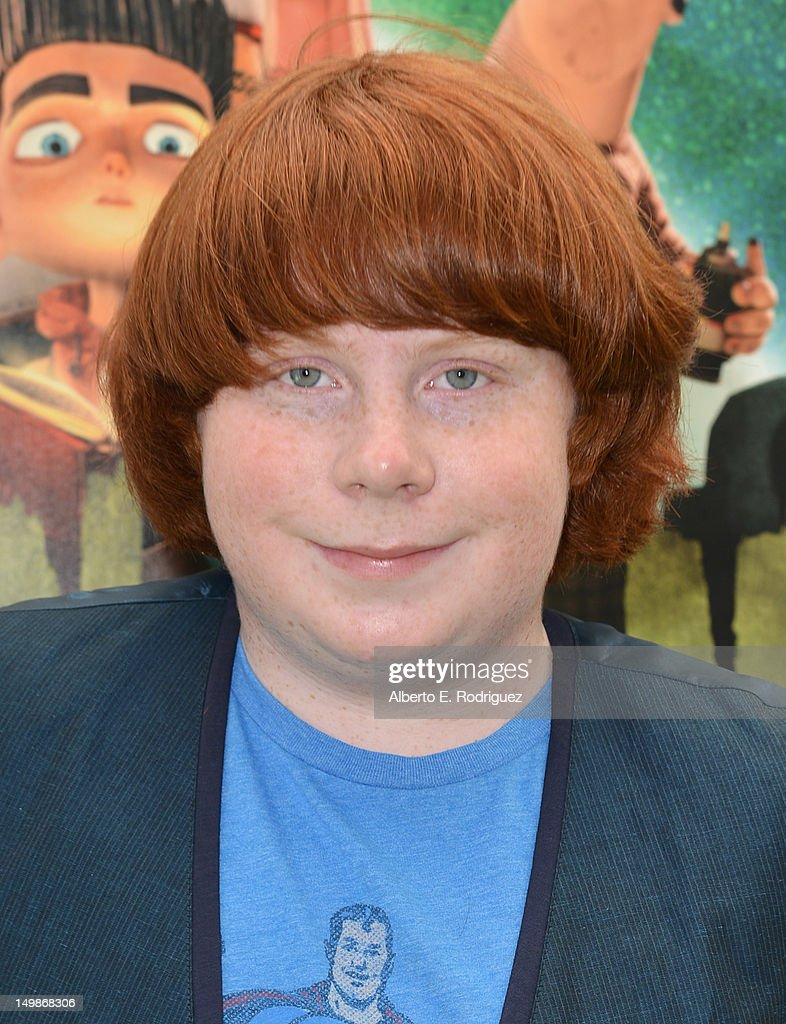 Actor Tucker Albrizzi arrives to the premiere of Focus Features' 'ParaNorman' at Universal CityWalk on August 5 2012 in Universal City California