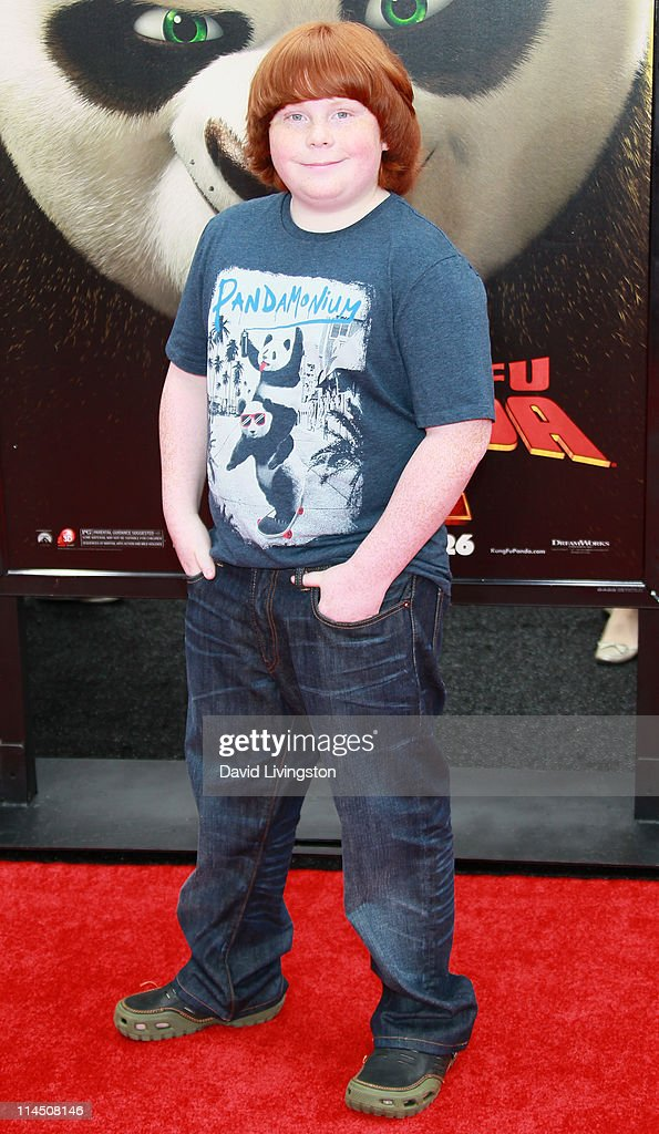 Actor Tucker Albrizzi attends the premiere of DreamWorks Animation's 'Kung Fu Panda 2' at Mann's Chinese Theatre on May 22 2011 in Hollywood...