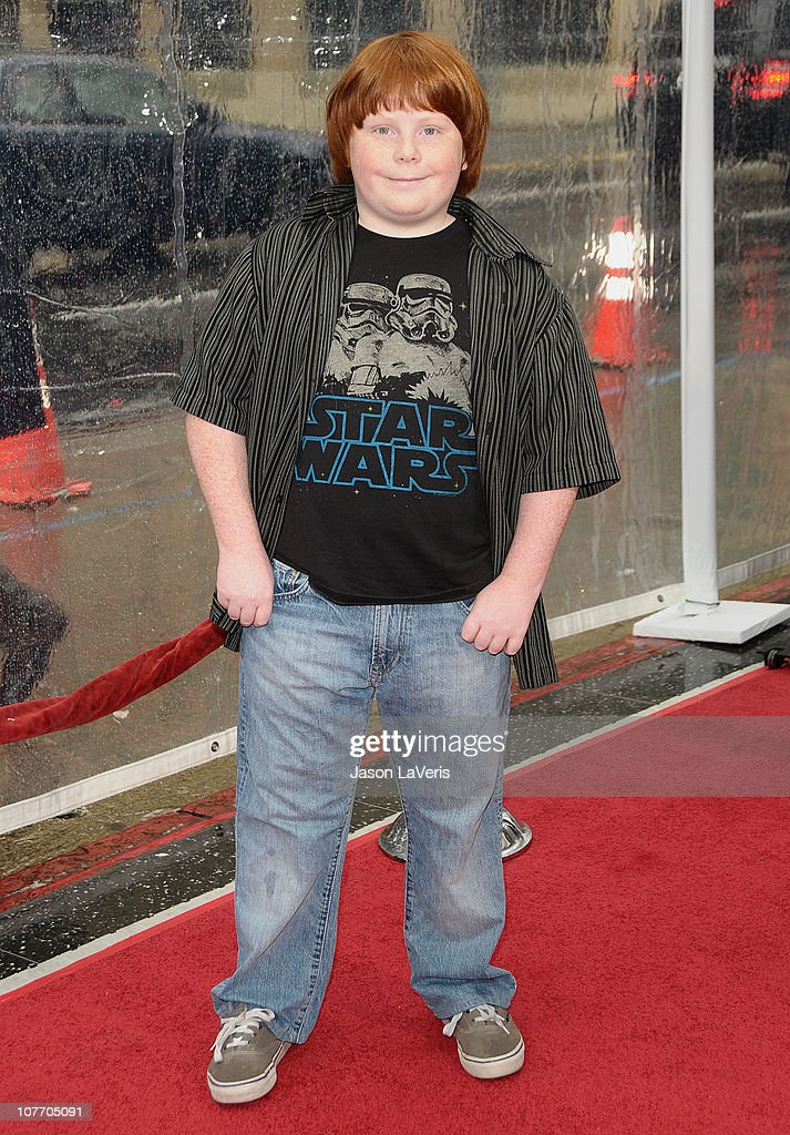 Actor Tucker Albrizzi attends the premiere of 'Gulliver's Travels' at Grauman's Chinese Theatre on December 18 2010 in Hollywood California