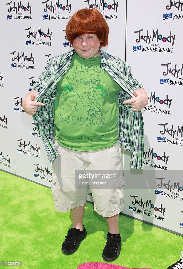 Actor Tucker Albrizzi attends the premiere of Relativity Media's 'Judy Moody and the NOT Bummer Summer' at ArcLight Hollywood on June 4 2011 in Los...