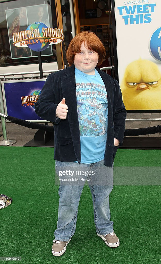Actor Tucker Albrizzi attends the premiere of Universal Pictures' and Illumination Entertainment's 'Hop' on March 27 2011 in Universal City California