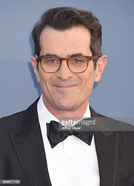 Actor Ty Burrell arrives at The 22nd Annual Critics' Choice Awards at Barker Hangar on December 11 2016 in Santa Monica California