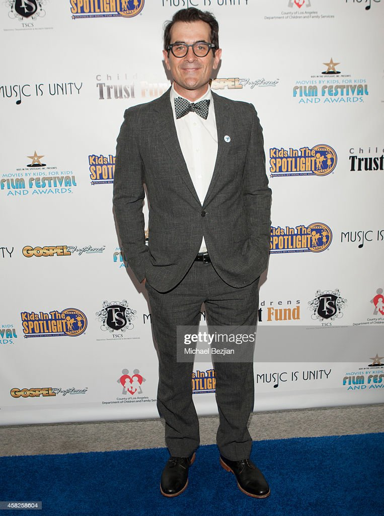 Actor Ty Burrell arrives at The Kids In The Spotlight Foundation's 5th Annual Film Festival And Awards at Writers Guild Theater on November 1 2014 in...