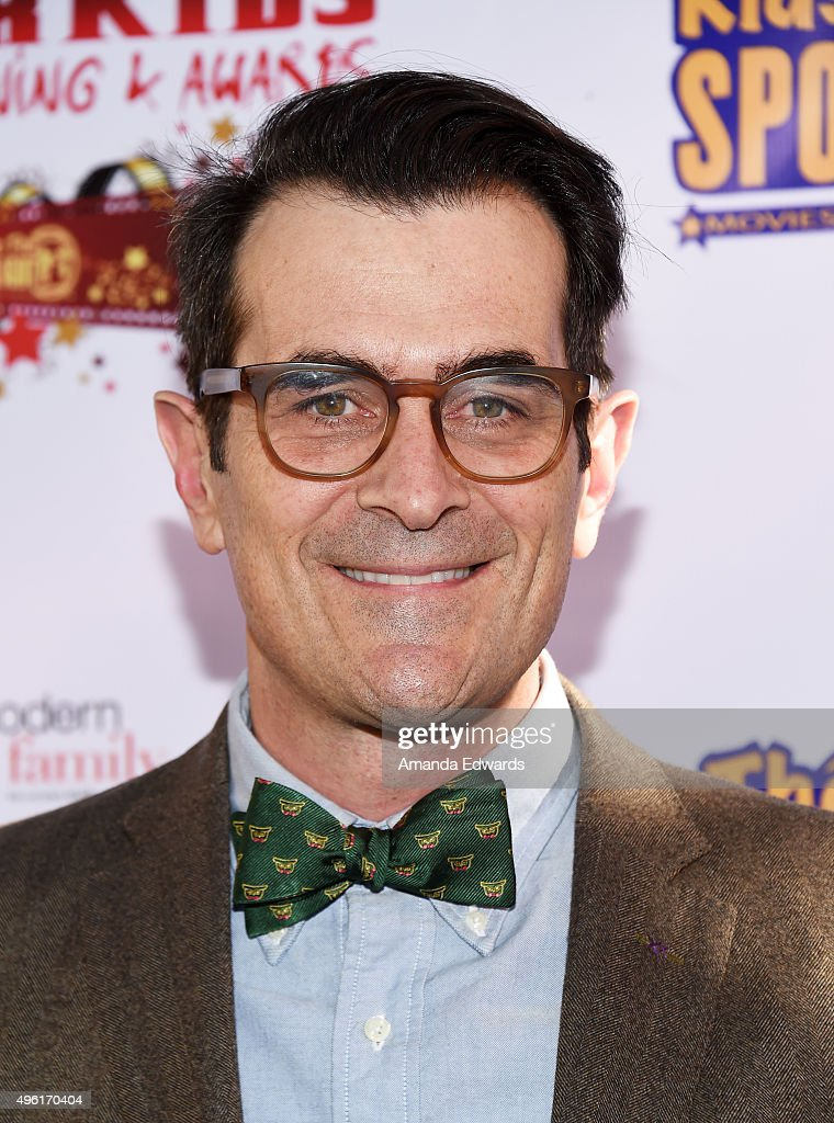 Actor Ty Burrell arrives at the Kids In The Spotlight's Movies By Kids, For Kids Film Awards at Fox Studios on November 7, 2015 in Los Angeles, California.